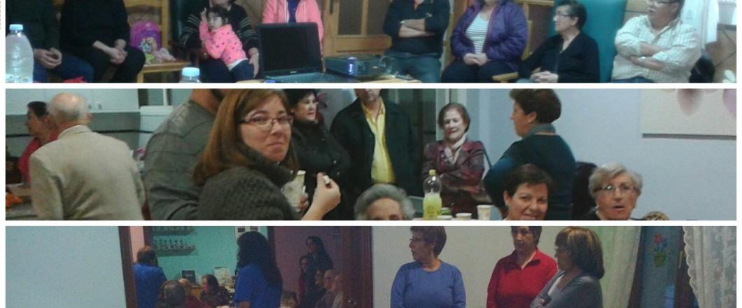 Reunión familias Ciceron 2015